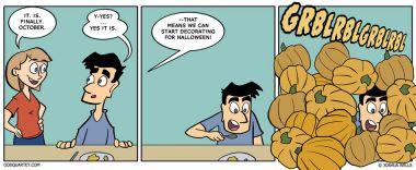 Havin' a Gourd Time!