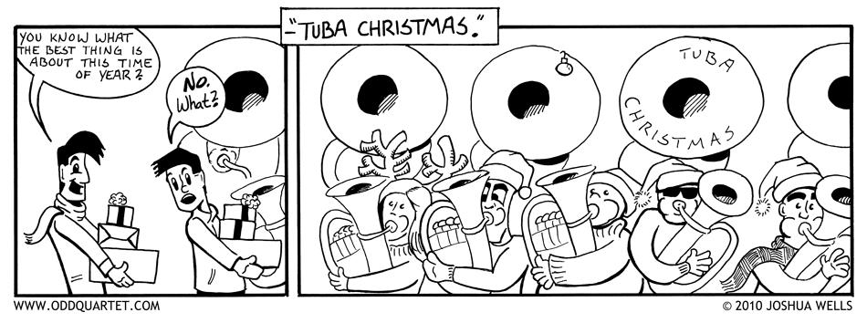 Odd Quartet - A Tuba Christmas