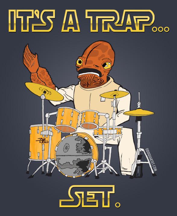 It's a Trap Set!