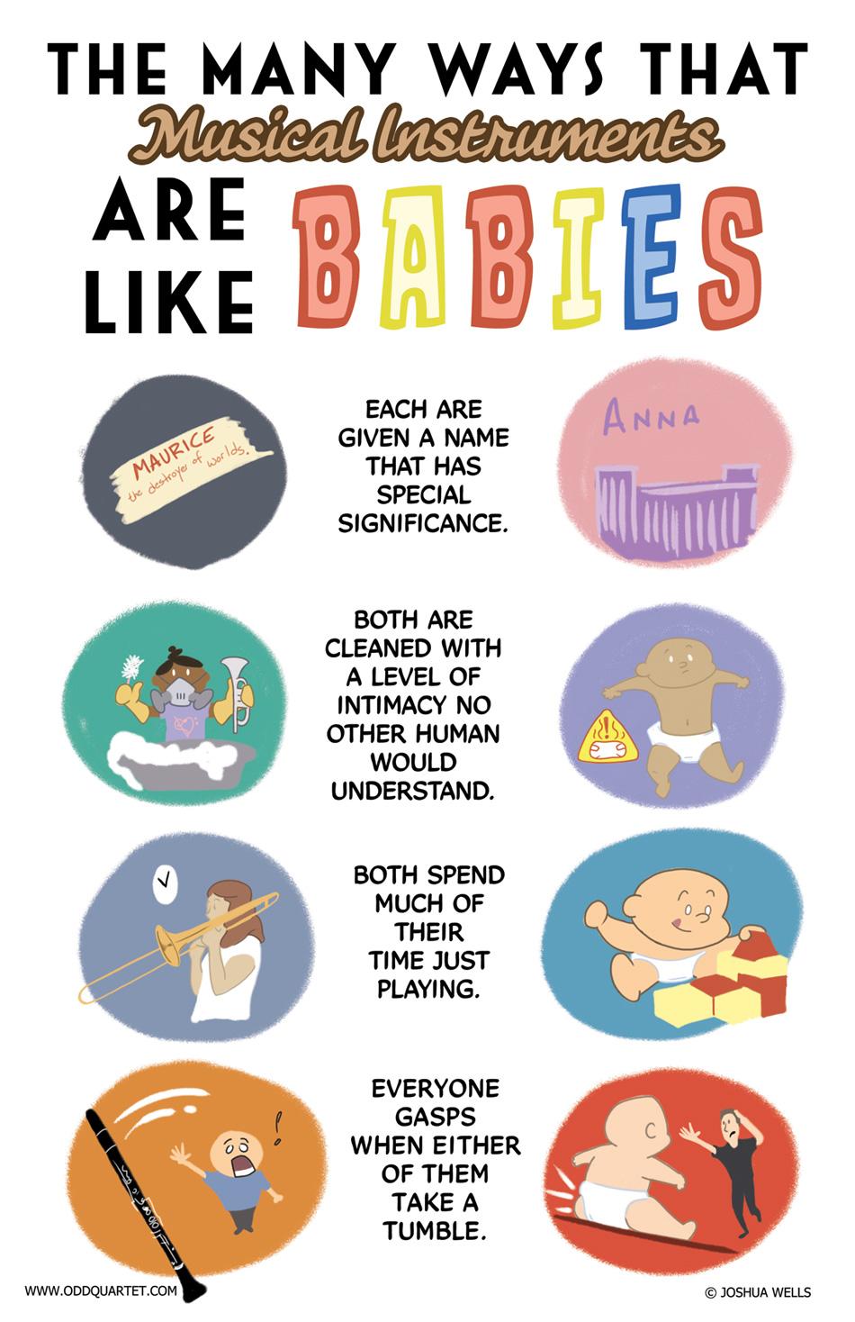 Just like babies!