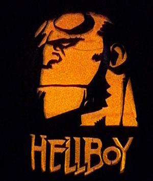 Hellboy jackolantern