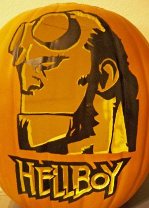 Hellboy jackolantern2